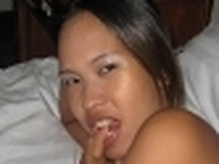 Amateur Pinay chick gets bawdy cleft smashed by black shlong then blows white stud
