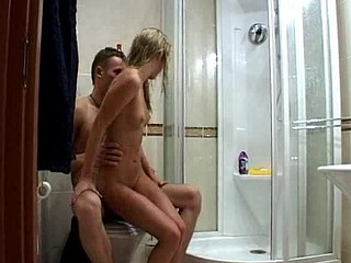 Check out this steamy washroom scene featuring a smoking hawt blond legal age teenager named Lukava and her juvenile stud named Botik. They make love all over the petite washroom, pounding her tight vagina as this babe..