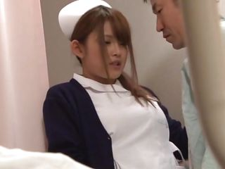 It was just a normal day of work for nurse Hikari when that babe found one of her patients masturbating. That guy caught her and laid her on the bed, got on top and took out his cock. Hikari was a bit scared at the..
