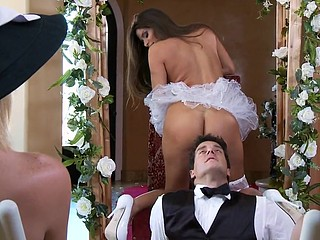 It's Madelyn's large day! The Royal Princess of Porn is getting married to Ramon, the Royal Prince of Porn. Their union leads to a sexy and hardcore session of matrimonial humping, the likes of which u've not ever seen!