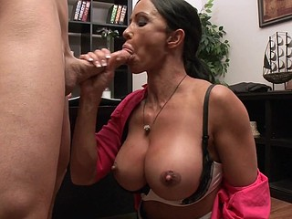 Jewels can't take some other day at the office out of air conditioning! The ice cubes aid but with brassiere buddies that large, it's always sexy. Little does Jewels know, her boss Mr. Sins has an air conditioner in his..