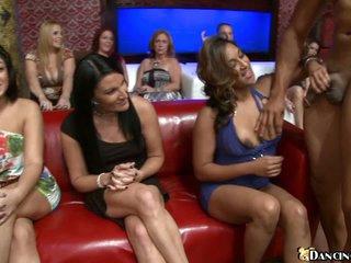 Ladies love dark stripper's priceless schlong