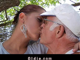 What a desirous old man would not crave to be fucked by engulf a beautiful juvenile cutie. Angel Rivas knows how to satisfy the dicks and can't live without being arse nailed by 'em.  Two old knob for a juvenile cute..