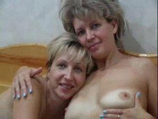 Russian doxies fucked in sauna