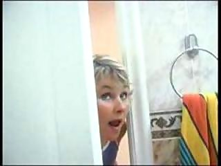 Mom Spying On Son Will He Was In Shower Than This babe Has Incest Sex