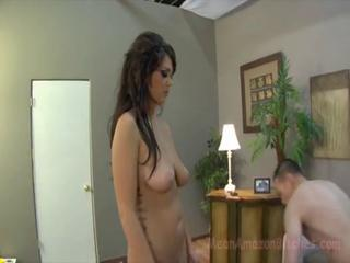 Facesitter Alison Tyler being a rough hottie