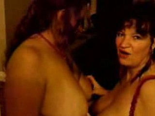 These lesbian lovers on video are in love with each others big ass tits. They can't receive enough of each others breasts that they receive a little rowdy as they receive naked and horny.