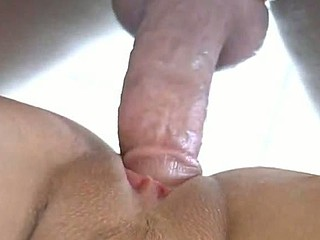 A rock hard penis keeps its boner with a taut cock ring and the lengthy haired GF loves it. She opens her cum-hole to the hardness that never fails and relaxes her mind without worrying about the end.