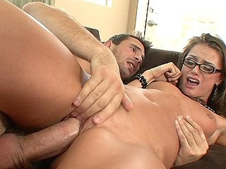 We asked Tori Black to try to look like a sexy librarian so this honey put on a pair of glasses and went to work on our knob.  That Babe licked, sucked, then wrapped her warm and soaked cookie around our schlong until we..