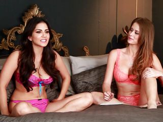 Watch these two porn super stars chat about their experiences and their sensual camaraderie. There is always wisdom behind a good fuck and these two, will tell u all about it. Watch Sunny and Emily bare it all and not..