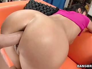 Hot milf Eva Karera  acquires her amazing arse fucked