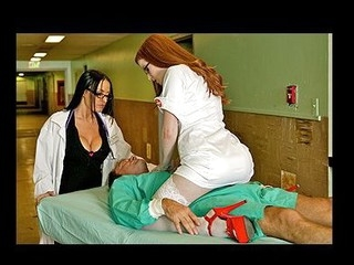 When a coma patient is rushed to the hospital Dr Deville nurses him back to life using the almost all valuable method of her medical training: Severe Penis Treatment.