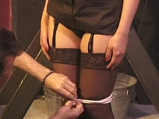 Feeble angel gets her sweet muff humiliated by Dominant