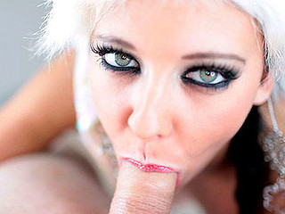 Mila returns to Dilettante Allure to show off her fantastic oral skills and her constricted little body in this holiday update. This Sweetheart shows up nearly completely undressed, solely wearing a little petticoat and..