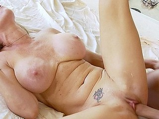 Dyanna Lauren is looking sexier than ever.  This star from the 1990s has come back to porn 'coz that's what this babe does most excellent, and her fans love watching her large wobblers sway and shake as that babe's..