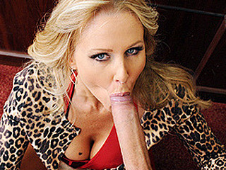 A matchmaker extraordinaire, Julia Ann is a savvy business woman who runs a high class dating service for female millionaires.  Satisfaction is always guaranteed, which is why that chick insists on thoroughly inspecting..