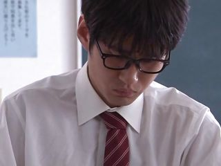 Well, when you have such a sexy teacher like Arisu is a bit hard to stay focused. This smoking hot asian teacher has a slim, gorgeous body and a pretty face that needs a few loads of cum on it. That babe approaches her dorky student and pays him some special attention. Is Arisu going to teach him how to fuck her?