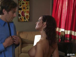 All these hungry milf want some action. They do lesbos and they do suck and rub other men's cock beside their husbands'! Well, here we got a hungry horny milf Syren Demer, toying and seducing a guy, Keiran Lee. Seeing..