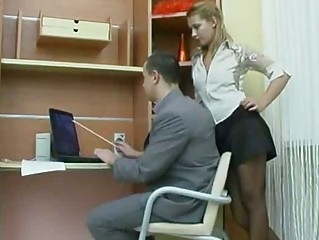 Very Hawt Russian Amateur Secretary