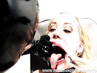 Annette Schwarz in Body Fluid Punishment