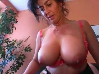 German Breasty Mature does her hubby