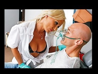 Sexy Dentist, Dr.Doll, comes in to take care of her patient Johnny. But her mind is easily distracted and this babe until this babe notices that this guy has a cavity and needs work done... Getting scared when that babe..
