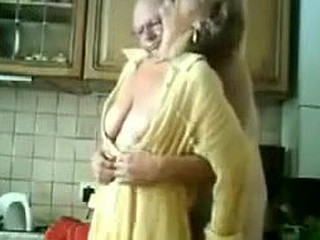 This dilettante old pair sexually explore all rooms in the house. In this intimate clip they decide to stay in the kitchen while he mixes her pussy with his fingers. She wants it bad and asks to fucked hardcore.