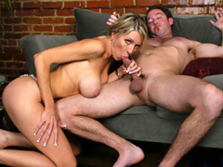 Mom Emma Starr Wraps A Juvenile Man's Manhood