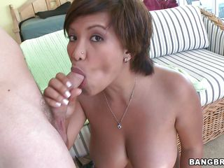 Reina is a young busty model with huge boobs large flawless ass shaved soaked pussy and a large desire for cock. That babe gives a nice head to the man in the first place and then he gets to fuck her tities. But man the..