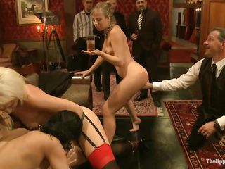 Chastity Lynn is a hawt blonde milf who likes playing sex games while people are watching. Beretta James and Dylan Ryan are there to make her feel unthinkable pleasure, fingering her pussy and asshole. Derrick Pierce..