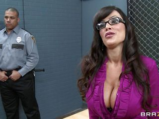 This teacher is taking rehabilitation classes for these three very serious criminals. This babe goes and removes her blouse and all these criminals make her sit on the table, they start groping her pressing her boobs..