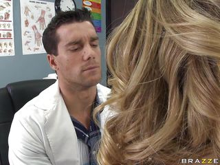 Kagney Linn Karter went to the school nurse for pains in her chest. She wants a doctor's note, but it's actually just to get out of school. When nurse Ramon examines her, it starts to feel actually good. She wants more,..