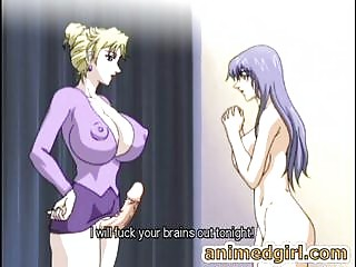 Breasty manga shemale fucks the shit out of her sexy ally