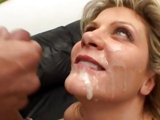 Ginger Lynn gets her face saturated with sexy cum