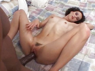Young wife cheats with 14 inch black guy