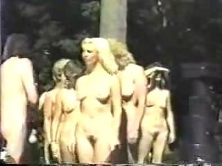 Beach nudist  0168 British Nudist Contest vintage