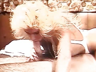 Amazing Vintage Blonde Slut Hot Drills Untill Biggest C