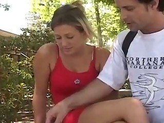 Sexy Blond Acquires Fucked By Hard...