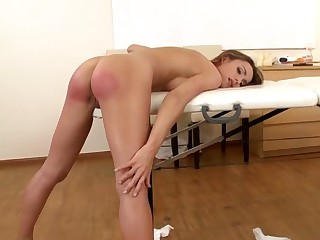 Leyla Darksome gts ehr aple butt slapped rough