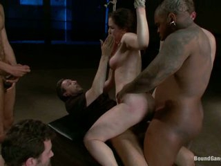Charlotte Vale got tied and filled with lots of cum