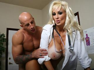 Eye Doctor Britney Found A Hard-On