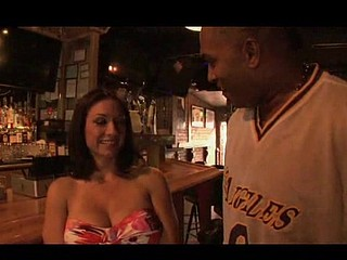 O.G. met up with Karrlie who has basketball sized titties to watch the game at a local sports bar. When this babe wanted to get out of there and play with some real balls. After watching the big game this babe got a big..