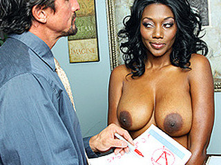 The school year has barely begun and already Nyomi's son is flunking out of his classes. Called in to the principal's office yet another time, Nyomi knows what to expect. As every mother knows, a woman will do anything for her son. And as every principal knows, it's simple to use this for some sexy backroom negotiations!