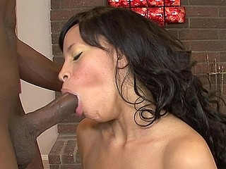 Gemini goes all the way in the oral-stimulation department here--just check out the second frame as this babe's engulfing the wind out of that bone.  Then listen to her moans of enjoyment as that babe gets her cum-hole..