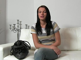 Vikki (37 mins)  Vikki is a sexy dark brown who's desirous to try her luck in the adult industry. I asked why and this honey told me that that honey wants to be a star and earn a lot of money. As u can imagine I was over..