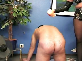 Slave has humiliated by the hot mistress