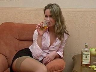 Sexy drunk muff