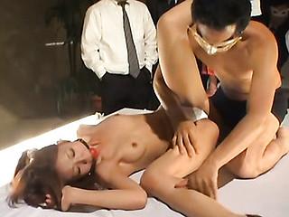 Two chicks having lesbian pleasure previous to their marvelous boyfriend