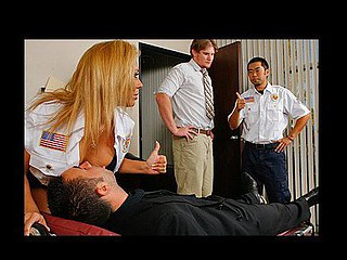Keiran unintentionally slips on the floor at work and hurts his back. When his ally Matt walks in this fellow tries helping him out but this fellow is in to much pang so that fellow calls the ambulance for him. When the..