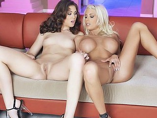 Puma Swede and Faith Leon are two incredible MILFs that are bursting with raunchy energy. Breaking out the toys and flicking their tongues brings one as well as the other stacked ladies to mind blowing cum drenched..
